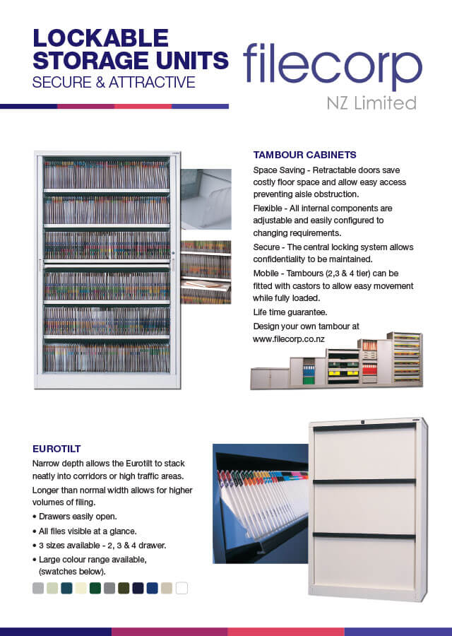 Lockable Storage Units